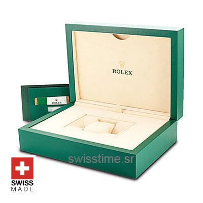 Rolex Swiss Clone Wood Box Set