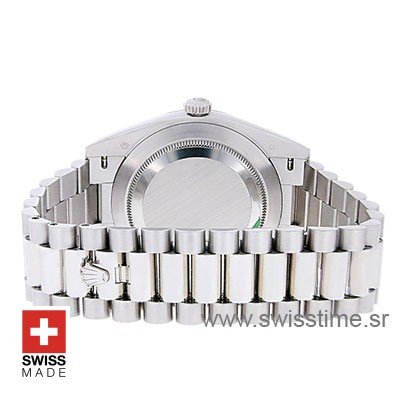 Rolex Day-Date 40 Platinum 40mm Swiss Replica