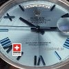 Rolex Day Date 40 Platinum Ice Blue Dial | Swiss Replica Watch