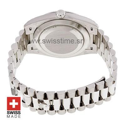 Rolex Day-Date 40 White Gold Swiss Replica Watch 40mm