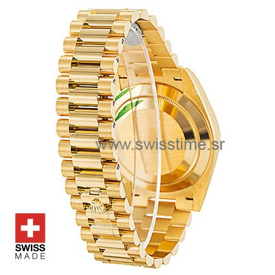 Rolex Day-Date 40 Yellow Gold 40mm Swiss Replica 40mm