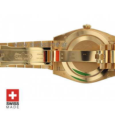Rolex Day-Date 40 Yellow Gold 40mm Swiss Replica 40mm