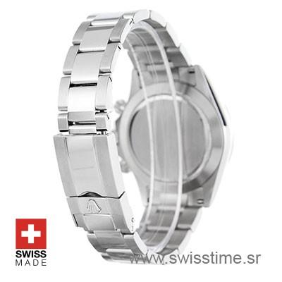 Replica Swiss Rolex Daytona 2016 White Gold Blue 40mm 4130 Clone