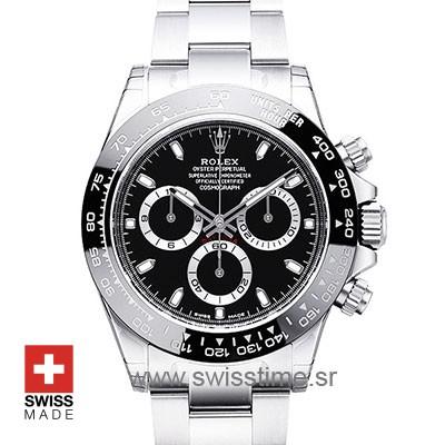 Rolex Daytona Black Ceramic Bezel | Swisstime Replica Watch