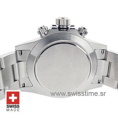 Rolex Daytona 2016 SS White Ceramic Bezel 40mm 4130 Rolex Clone