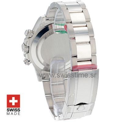 Rolex Daytona 18K White Gold Silver Dial 40mm Best Swiss Replica