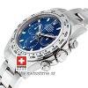 Rolex Daytona White Gold Blue Dial   Swisstime Replica Watch