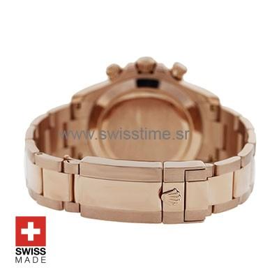 Rolex Daytona Everose Gold Chocolate Dial   Swisstime Watch