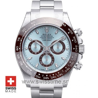 Rolex Cosmograph Daytona Ice Blue Dial | Swiss Replica Watch
