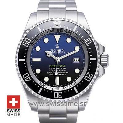 Rolex Deepsea D-Blue SS 44mm 116660-0