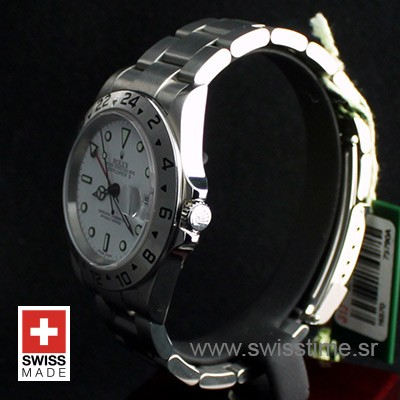 Rolex Explorer II White SS 40mm