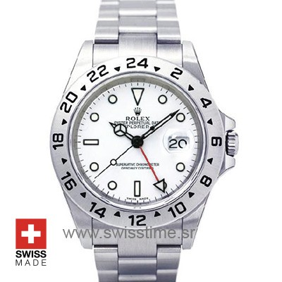 Rolex Explorer II White SS 40mm