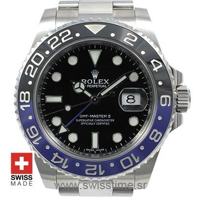 Rolex GMT Master II SS Blue Black Ceramic-2405