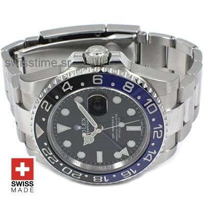 Rolex GMT Master II SS Blue Black Ceramic-2407