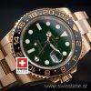 Rolex GMT Master II Gold Green Ceramic 40mm