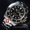 Rolex Submariner 2 Tone Black Dial Diamond | Swisstime Watch