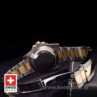 Rolex Submariner 2 Tone Black Dial Diamond   Swisstime Watch