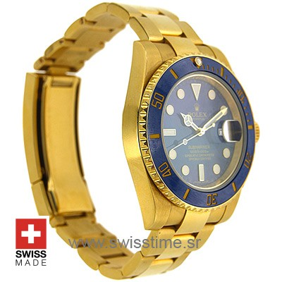 Rolex Submariner Gold Blue Ceramic-2380