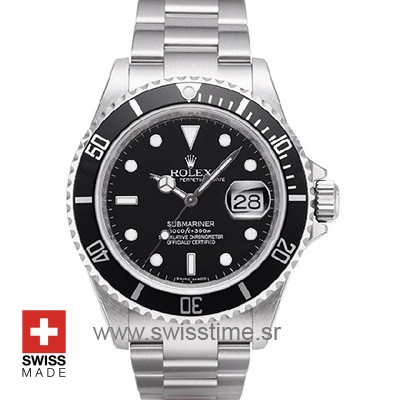 Rolex Oyster Perpetual Submariner Black | Swisstime Watch