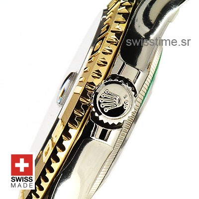 Rolex Yacht Master two tone Blue Dial   Swisstime Replica watch