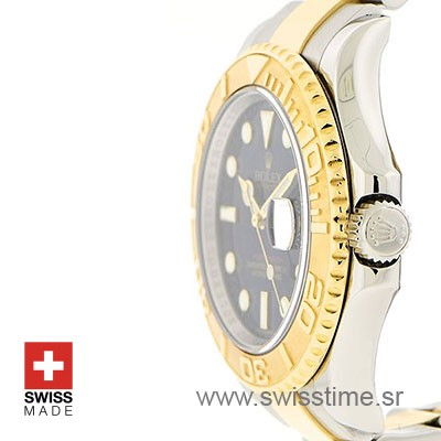 Rolex Yacht Master two tone Blue Dial | Swisstime Replica watch