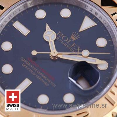 Rolex Yacht-Master 2-Tone Blue Swiss Replica
