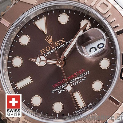 Rolex Yacht-Master 2016 Rose Gold 2-Tone Chocolate 40mm