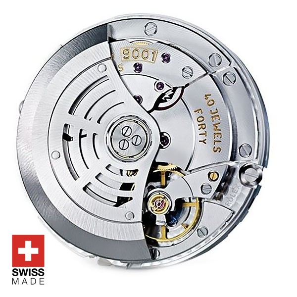 Rolex 9001 Clone Swiss Made Movement