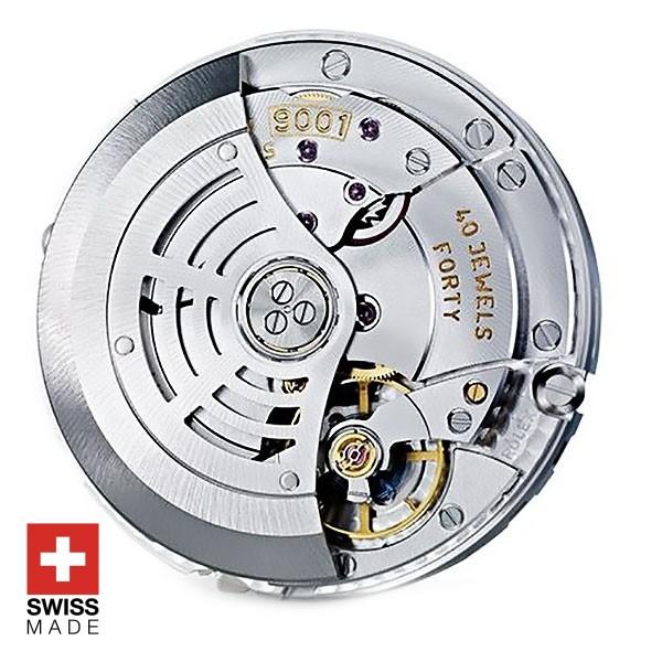 Rolex 9001 Clone Swiss Made Movement