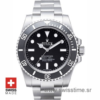 Rolex Submariner No Date Black Dial Ceramic Bezel | Swisstime