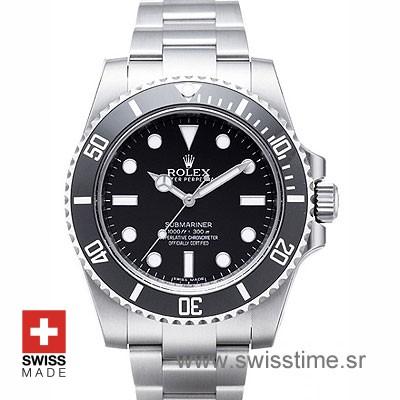 Rolex Submariner No Date Black Dial Ceramic Bezel | Swisstime