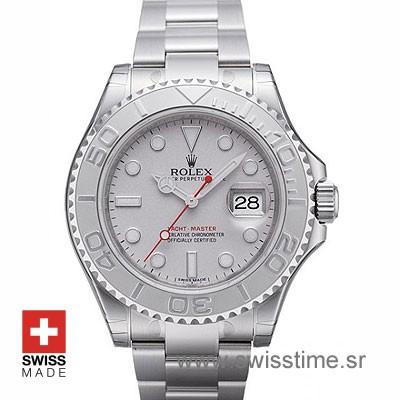 Rolex Yacht Master Stainless Steel Rolesium | Swisstime Watch