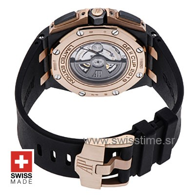 Swiss Replica Audemars Piguet Queen Elizabeth II Cup 2016 Chronograph Forged Carbon 44m