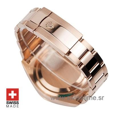 Rolex Sky-Dweller Rose Gold Chocolate Dial   Swisstime Watch