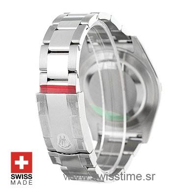 Rolex Datejust II Silver Dial   Swisstime Rolex Replica Watch