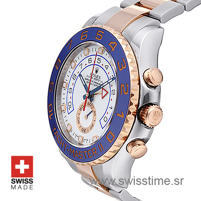 Rolex Yacht-Master II 2-Tone 44mm Swisstime sr