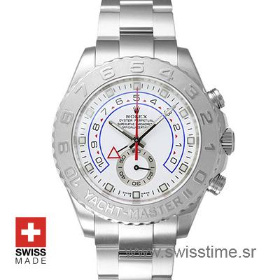 Rolex Yacht-Master II Platinum 44mm Swisstime sr