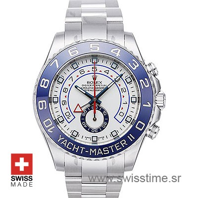 Rolex Yacht-Master II Steel 44mm Swisstime sr