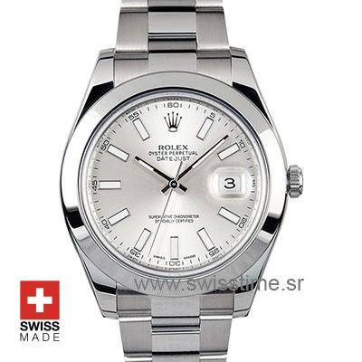 Rolex Datejust II Silver Dial | Swisstime Rolex Replica Watch