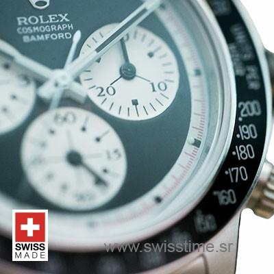 Rolex Daytona Bamford Paul Newman Black Dial Steel 40mm Swiss Replica