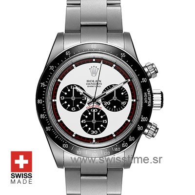 Rolex Daytona Bamford Paul Newman White Dial Steel 40mm Swiss Replica